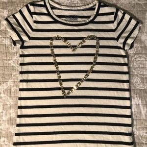 GIRLS CREWCUTS FASHION TEE, EUC, SZ 8